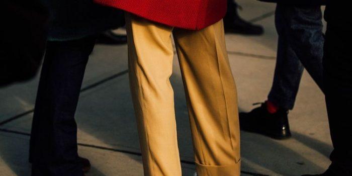 パンツ丈と裾幅の関係